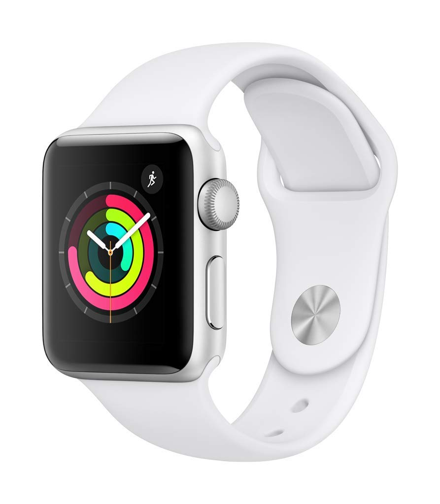 Apple Watch Series 3 (GPS, 38mm) - Silver Aluminium Case