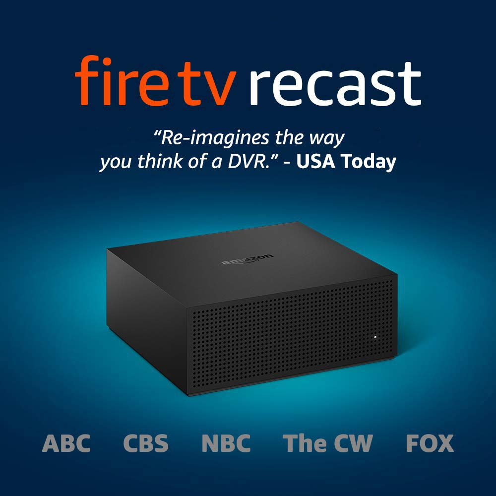 Fire TV Recast, over-the-air DVR, 500 GB | Best Amazon Prime Day