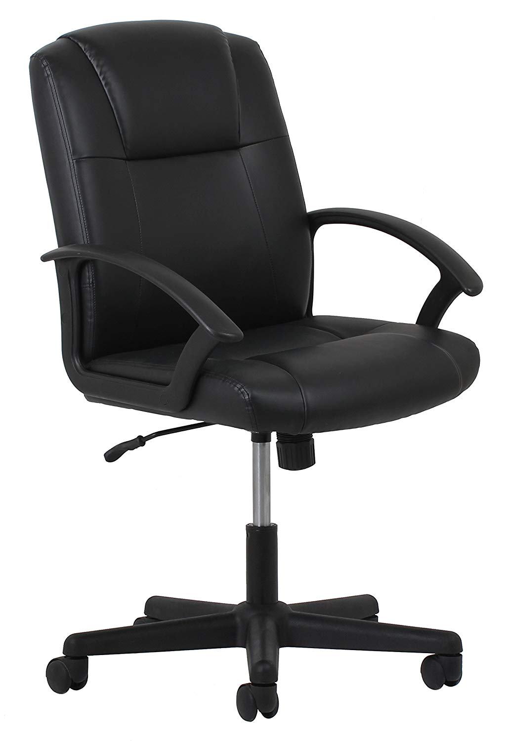 Essentials Leather Executive Office/Computer Chair with Arms - Executive Chairs