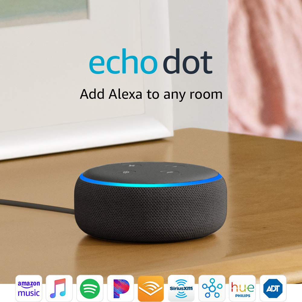 Echo Dot (3rd Gen) - Smart speaker with Alexa