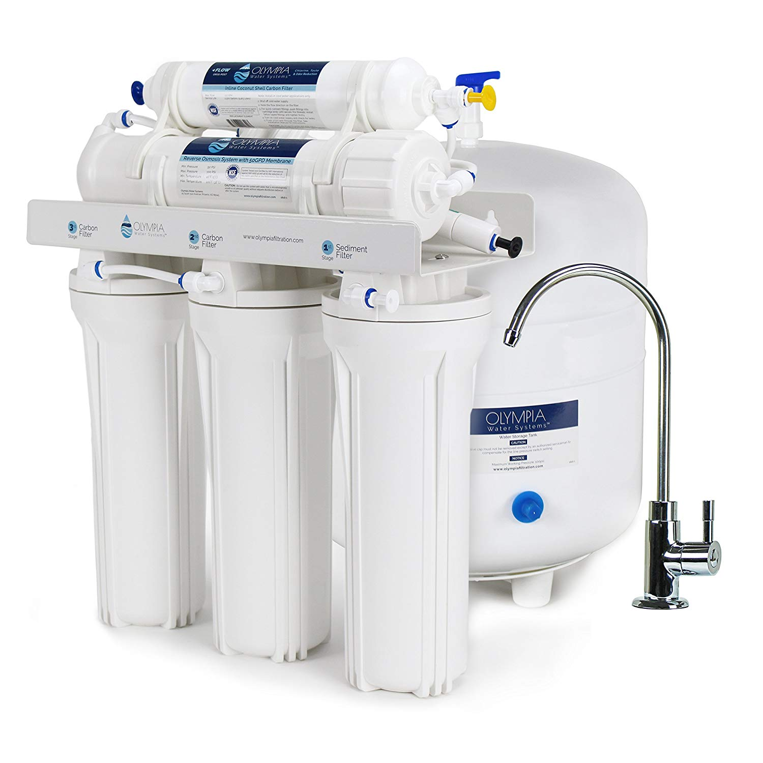 Olympia Water Systems OROS-50 5-Stage