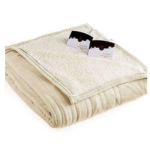 Biddeford 2064-9032138-535 MicroPlush Sherpa Electric Heated Blanket - Electric Blankets