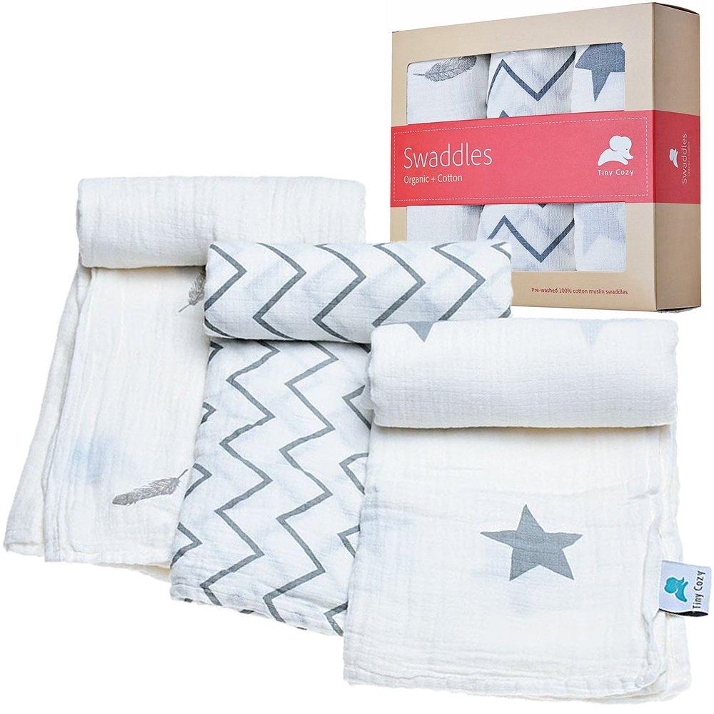 Muslin Swaddle Blankets for Newborn - baby blankets