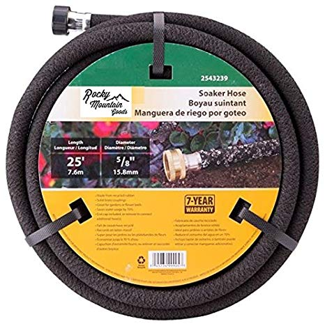 Rocky Mountain Goods Soaker Hose - Heavy duty rubber