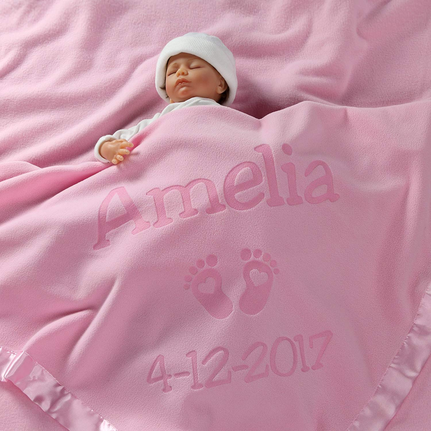 Personalized Newborn Gifts for Baby - baby blankets