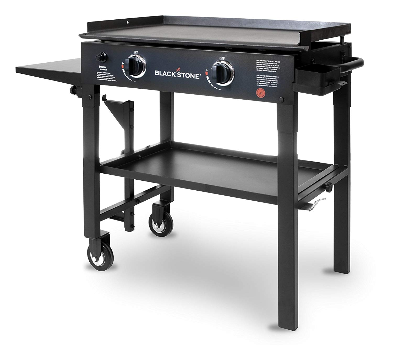 Blackstone 28 inch Outdoor Flat Top Gas Grill Griddle Station - Blackstone Griddle