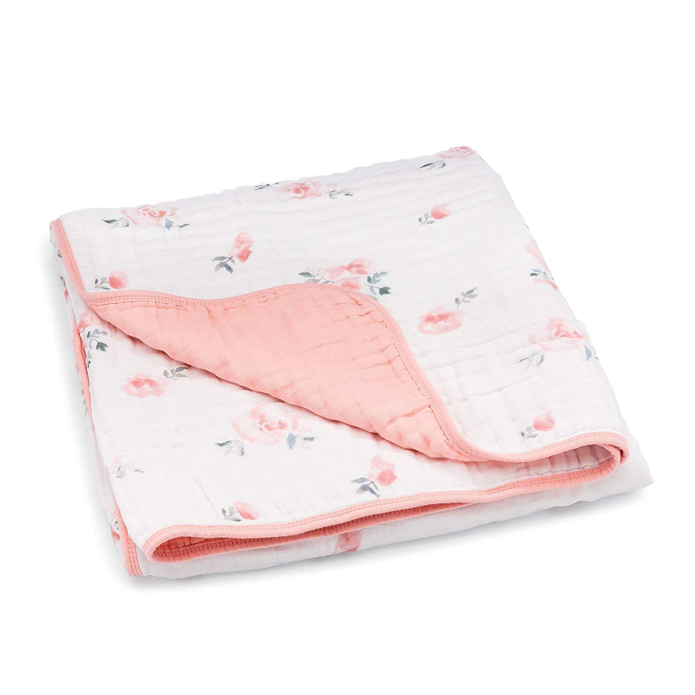 Parker Baby Muslin Blanket - baby blankets
