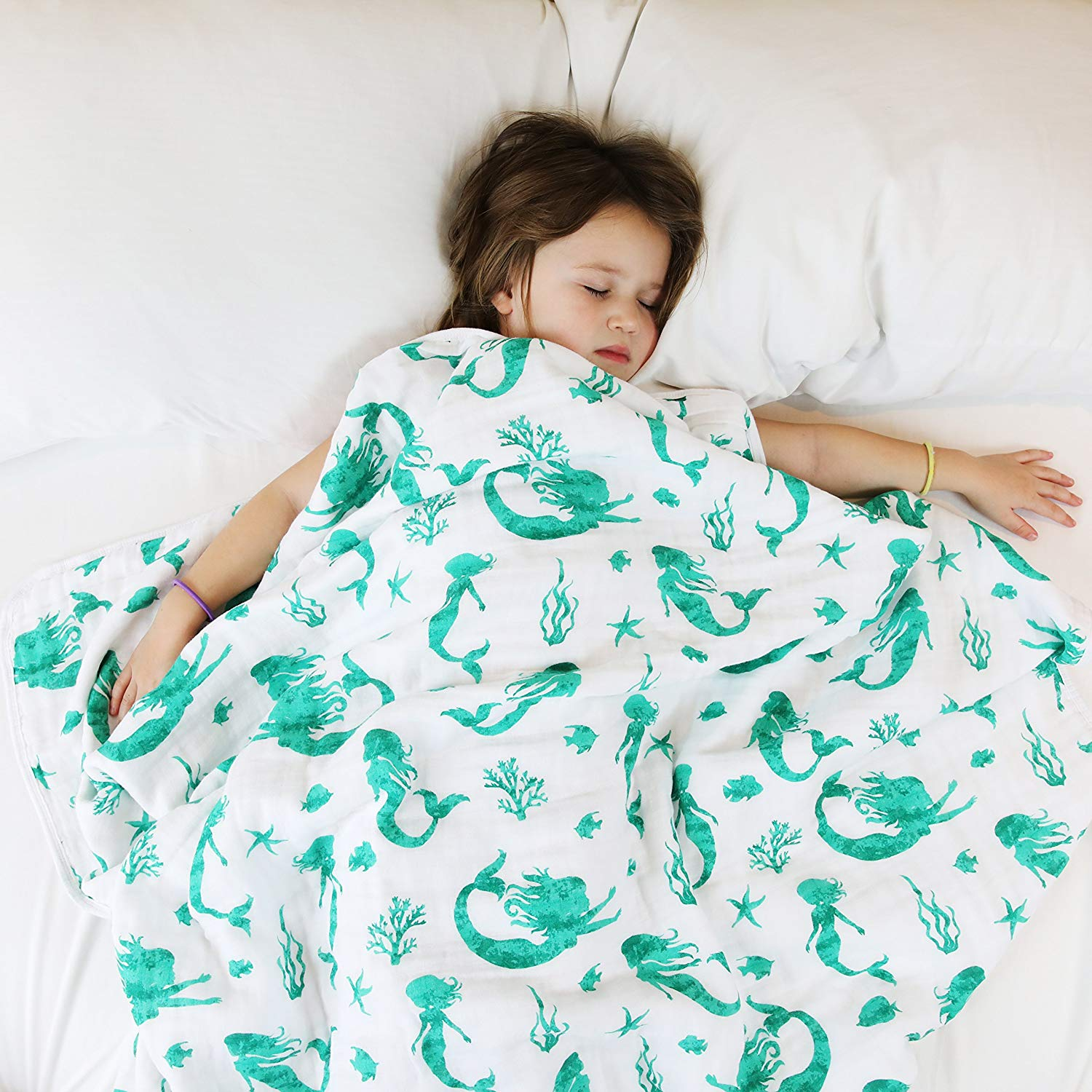 100% Organic Muslin Everything Blanket by ADDISON BELLE - baby blankets