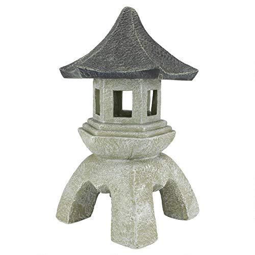 Design Toscano Asian Decor Pagoda Lantern Outdoor Statue - Garden Ornaments