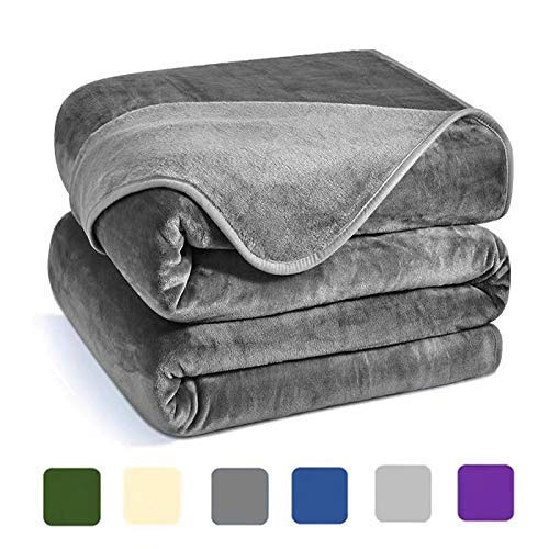 Charm Heart Luxury Fleece Blanket, 350GSM Blanket Super Soft Warm Thick Blanket