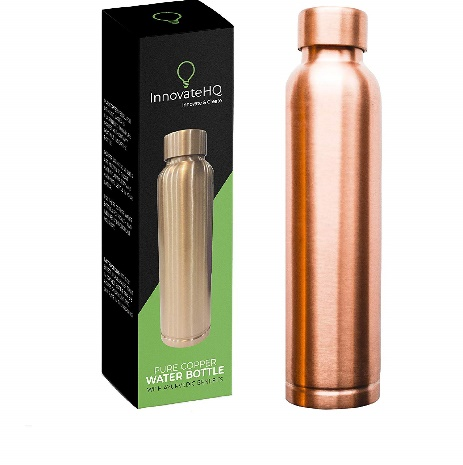 InnovateHQ Copper Water Bottle Ayurvedic Benefits