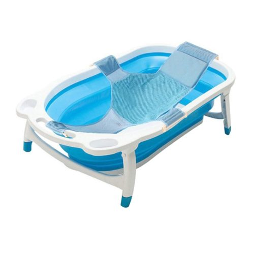 Kidsmile Baby Portable Collapsible Bathing Tub with Non-Slip Mat