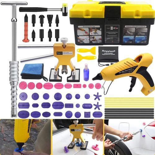 Anyyion Paintless Dent Repair Kits - 69pcs Car Body Paintless Dent Repair Tools