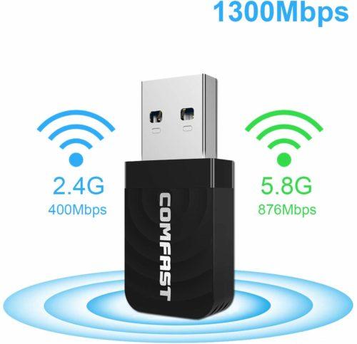 USB Wi-Fi Adapter USB 3.0 Wi-Fi Dongle Wireless Network Adapter