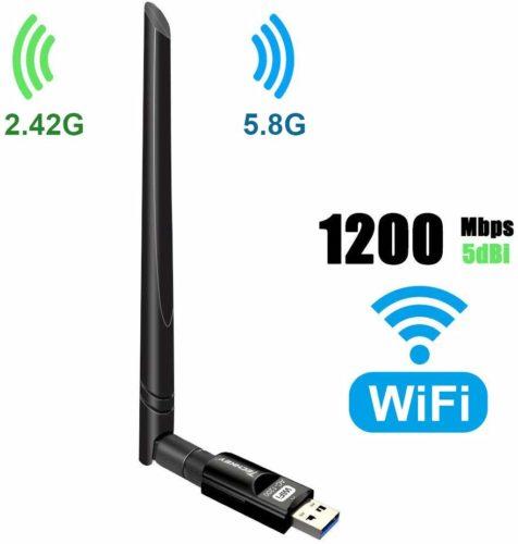 Wi-Fi Adapter 1200Mbps USB 3.0 Wi-Fi Dongle