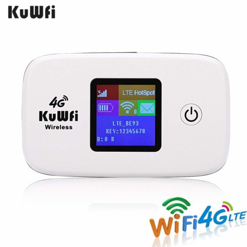 KuWFi 4G LTE Mobile WiFI Hotspot Unlocked Wireless router