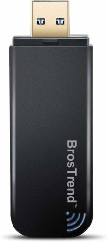 BrosTrend 1200Mbps Wi-Fi Network Adapter for Laptop