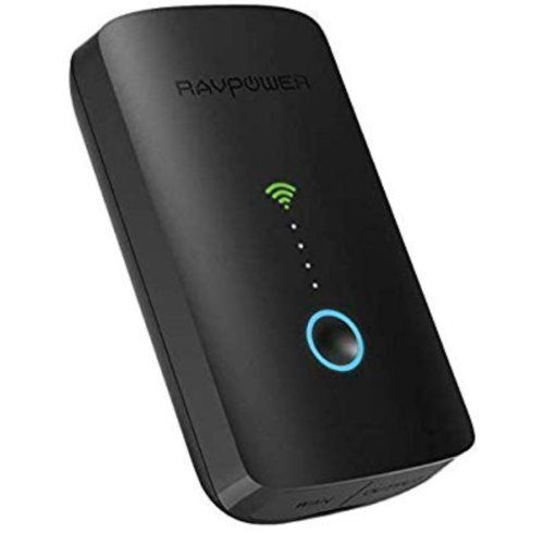 RAVPower FileHub Plus, Dual Band Wireless Travel Router
